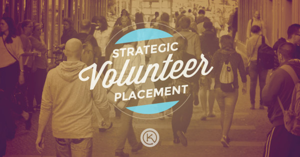 strategic volunteer placement