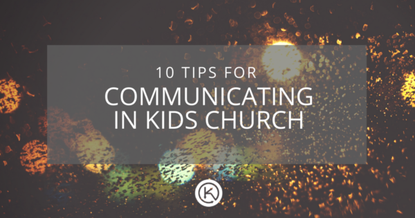 Better communication in Kids church